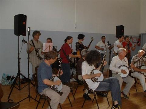 Elèves banjo à Ris Orangis