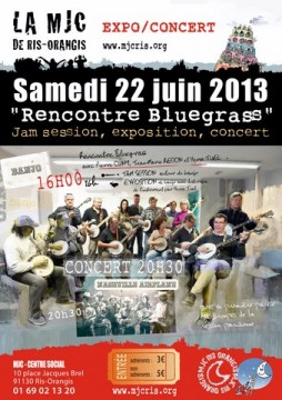 rencontre bluegrass juin 2013