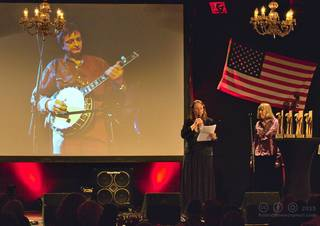 Jean-Marie Redon's European bluegrass pioneer award 2