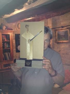 Jean-Marie Redon's European bluegrass pioneer award